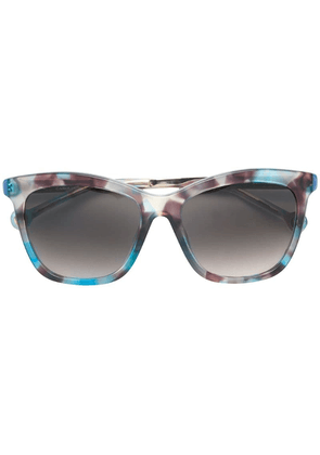 Ch Carolina Herrera square shaped sunglasses - Multicolour