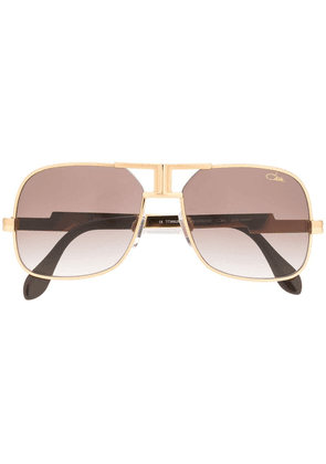 Cazal oversized sunglasses - Gold