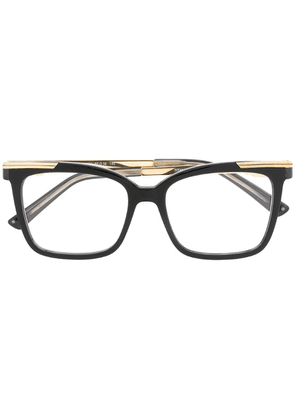 Cazal square glasses - Black