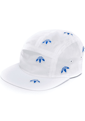 Adidas Originals By Alexander Wang embroidered Trefoil cap - White