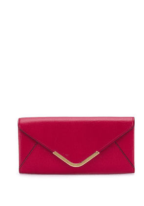 Anya Hindmarch continental envelope wallet - Red