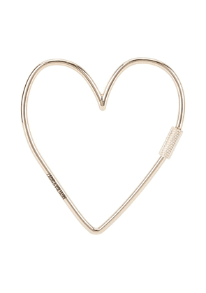 Zadig & Voltaire heart keyring - Silver