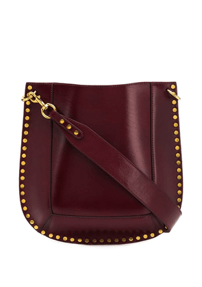 Isabel Marant studded shoulder bag - Red