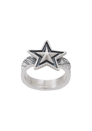 Cody Sanderson Small Star ring - Metallic
