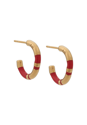 Aurelie Bidermann Positano small earrings - Red
