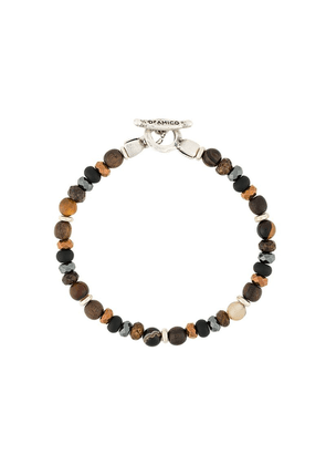 Andrea D'amico beaded necklace - Brown
