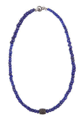 Catherine Michiels beaded necklace - Blue