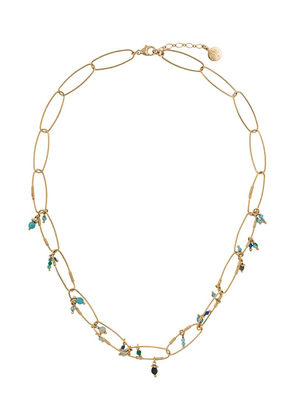 Gas Bijoux Cocoa beaded necklace - Gold