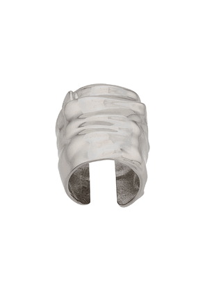 Maison Margiela sculpted oversized ring - Silver