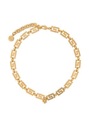 Versace greca chain necklace - Gold