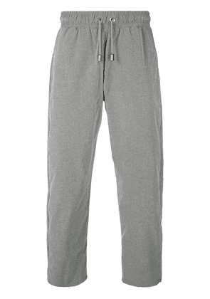 Blood Brother cropped track pants - Grey