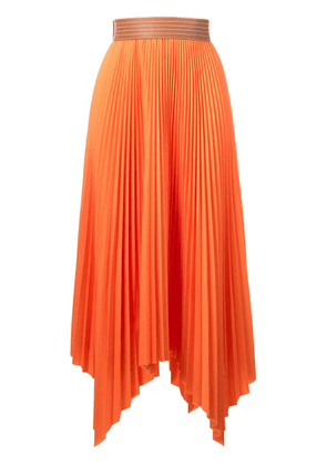 Loewe pleated skirt - Orange