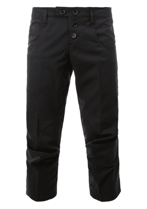 Christopher Nemeth cropped tailored trousers - Black