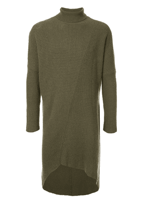 First Aid To The Injured veli knit turtleneck sweater - Green