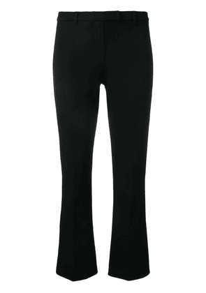 'S Max Mara cropped slim-fit trousers - Black
