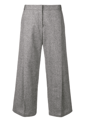 Barbara Bui wide leg cropped trousers - Grey