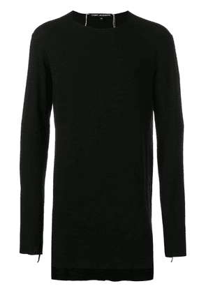 Cedric Jacquemyn fitted tee - Black