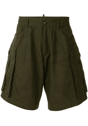 Dsquared2 cargo shorts - Green