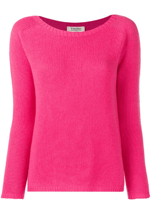 'S Max Mara long-sleeve fitted sweater - Pink