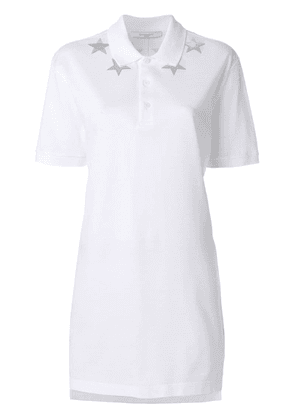 Givenchy star-patch polo top - White
