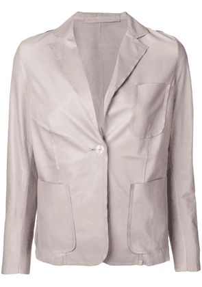 Salvatore Santoro single breasted blazer - Neutrals