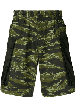 Dsquared2 camouflage cargo shorts - Green