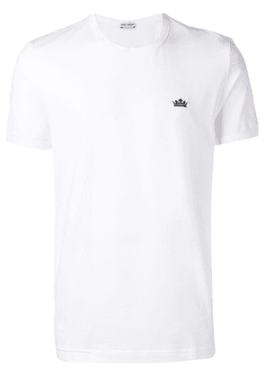 Dolce & Gabbana crown logo T-shirt - White