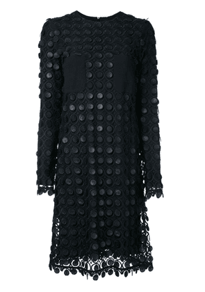 Carven layered lace dress - Black
