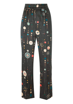 Isabel Marant dot detail straight-fit trousers - Black