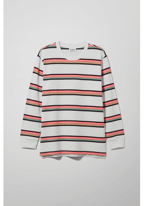 Amped Striped Long Sleeve - White