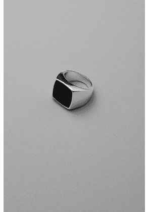 Stone Ring - Silver