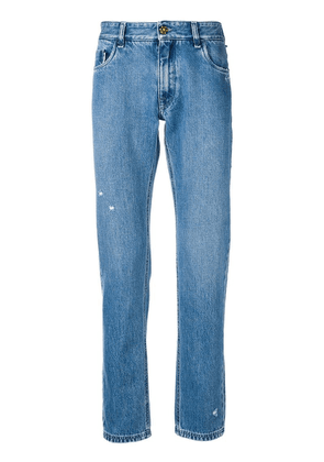 Fendi slim fit jeans - Blue