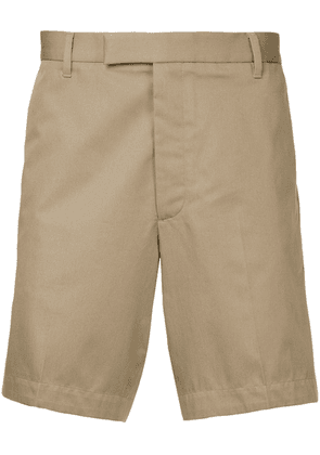 Gieves & Hawkes fitted chino shorts - Neutrals