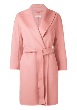'S Max Mara belted wool coat - Pink