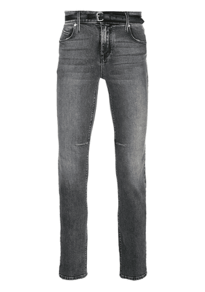 RtA 119 belted skinny jeans - Blue