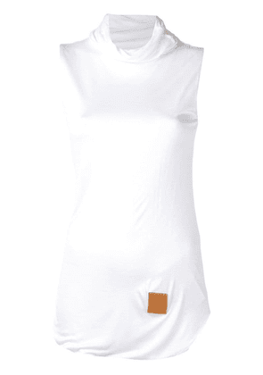 Loewe high-neck top - White