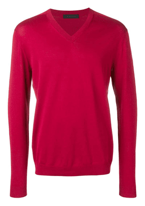 Falke classic pullover - Red