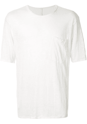 Forme D'expression relaxed skewed T-shirt - White