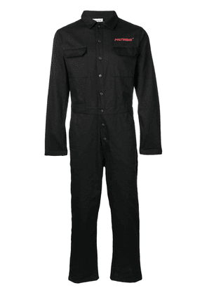 Polythene* Optics logo jumpsuit - Black