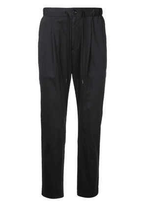 Attachment tailored track pantrs - Black