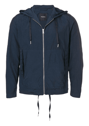 Theory hooded lightweight jacket - Blue