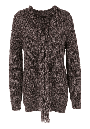 Tufi Duek knitted cardigan - Grey