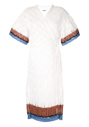 Coohem Summer Lacy Knit cardigan - White