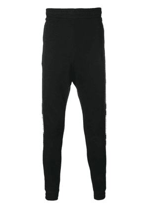 Reebok logo band track pants - Black