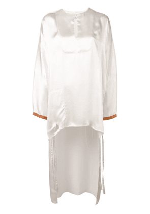 Loewe high low blouse - White