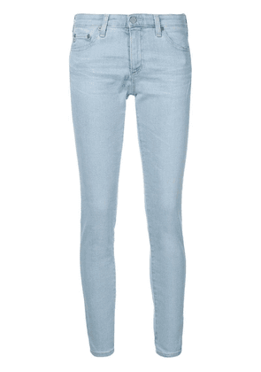 Ag Jeans low-rise cropped jeans - Blue