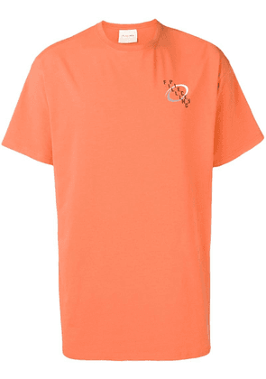 Filling Pieces Swirl T-shirt - Orange