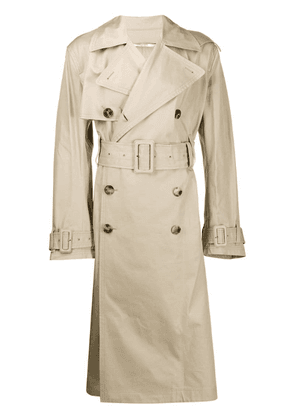 Valentino Uniform Couture trench coat - Neutrals