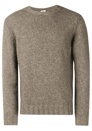 Borrelli long-sleeve fitted sweater - Grey