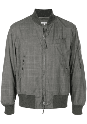 Engineered Garments checked bomber jacket - Grey